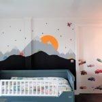 kinderkamer muurschildering inspiratie