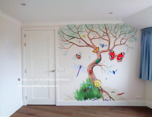muurschildering kinderkamer