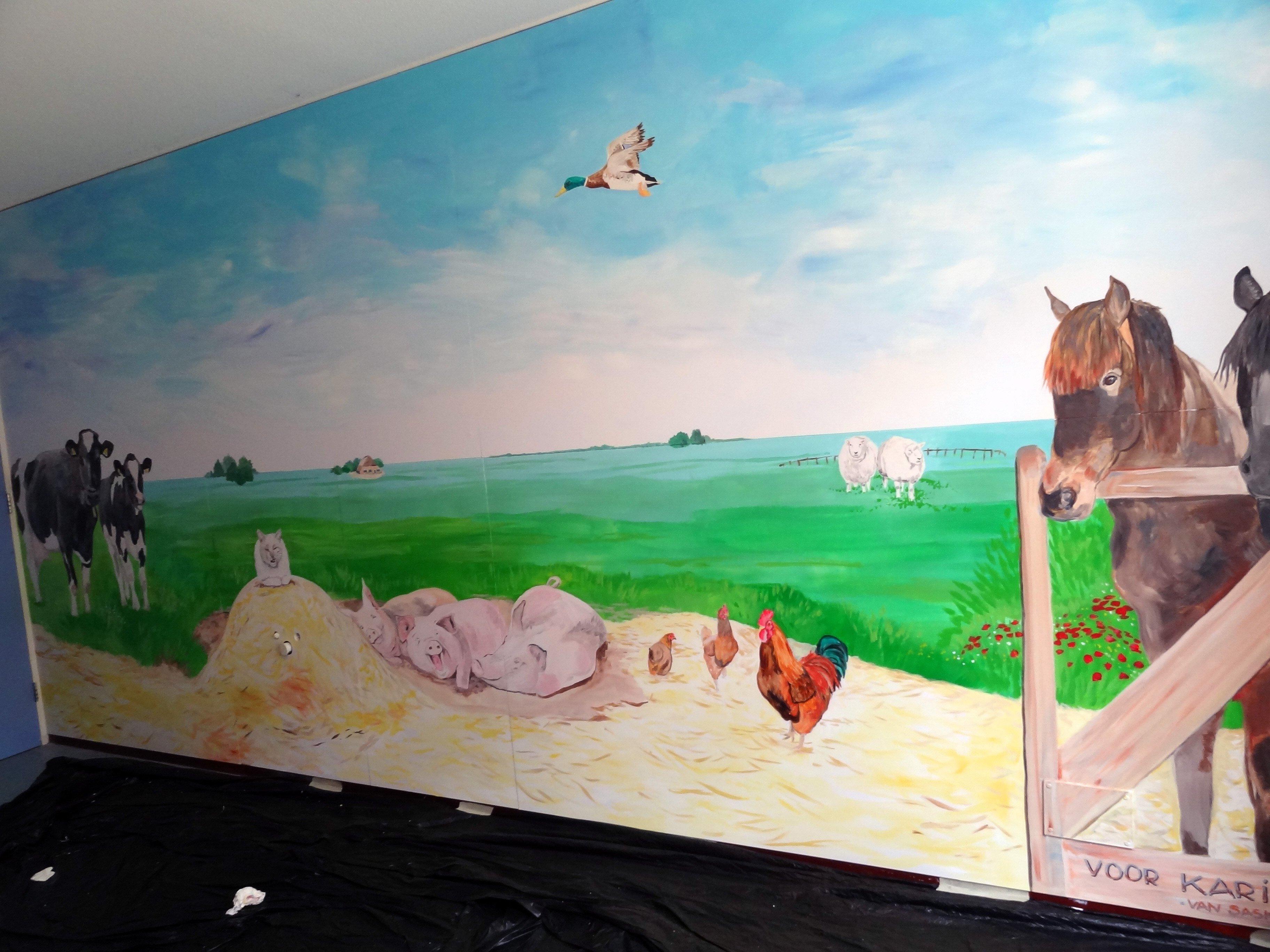 Muurschilderingen voor slaapkamer beste inspiratie voor interieur design en meubels idee n - Ontwerp muurschildering ...