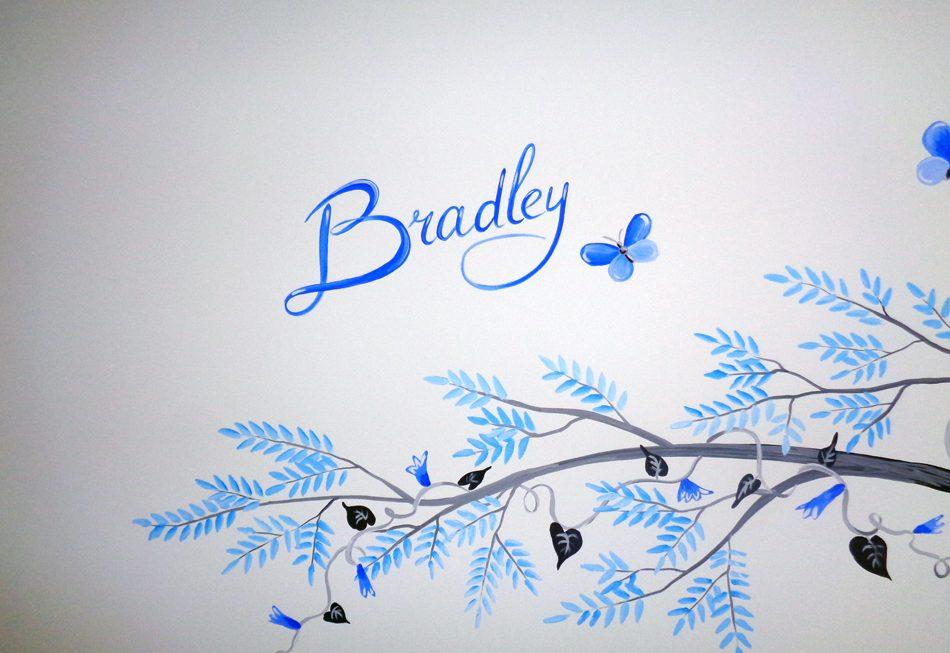baby naam laten schilderen