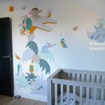 dieren muurschildering laten maken
