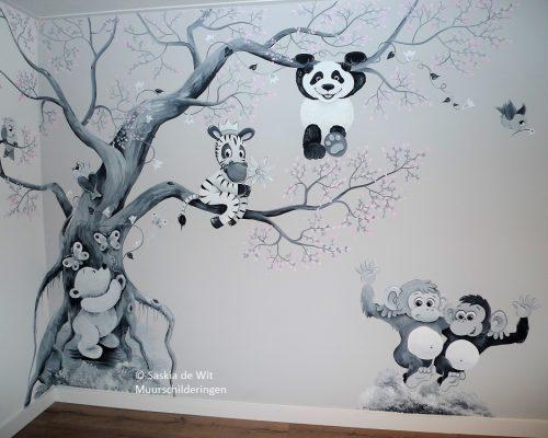 muurschildering voorbeeld